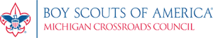 Michigan Crossroads Council Logo - Transparent