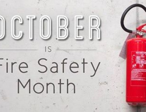 SAFETY MOMENT – October is Fire Safety Month