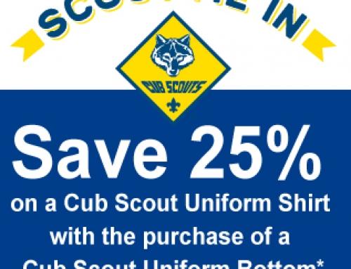 Cub Scout Uniform Discount
