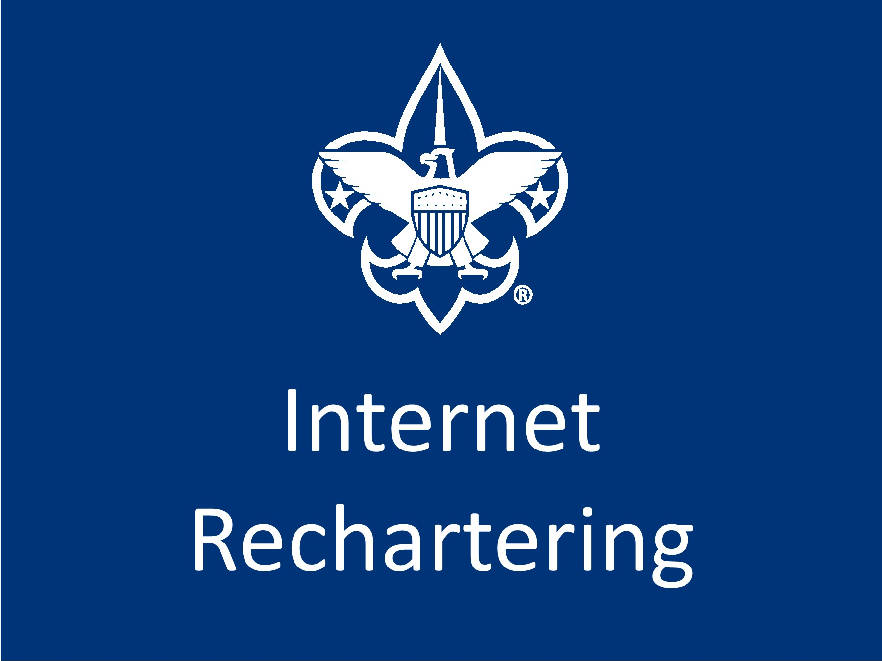 BSA Internet Rechartering